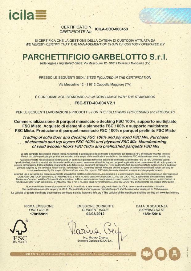 FSC Garbelotto