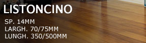 Solid wooden floors