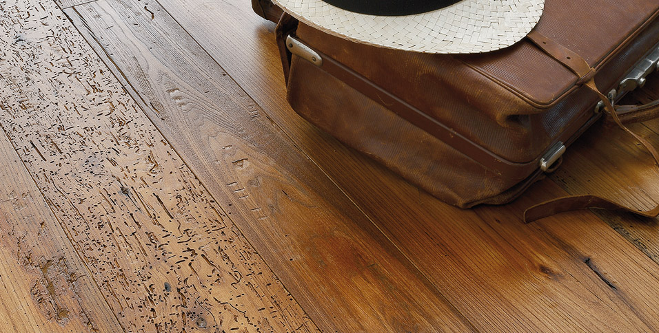 Wood floors in ancient elm recovery