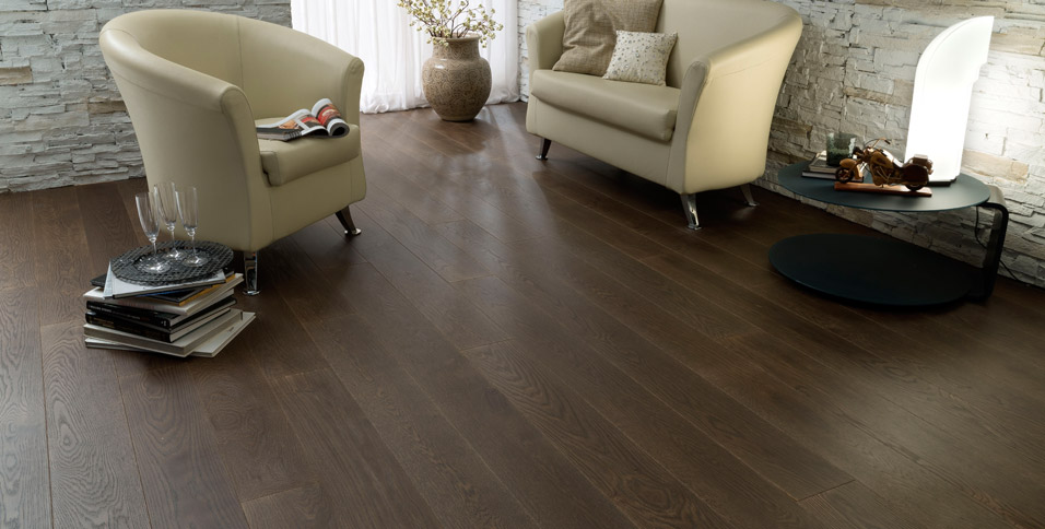 Hardwood Floors in Oak model Florence
