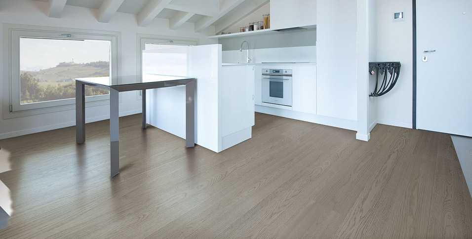Hardwood Floors in Oak model Ischia